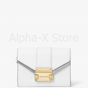 NWT Michael Kors Whitney Small Leather Chain Walle